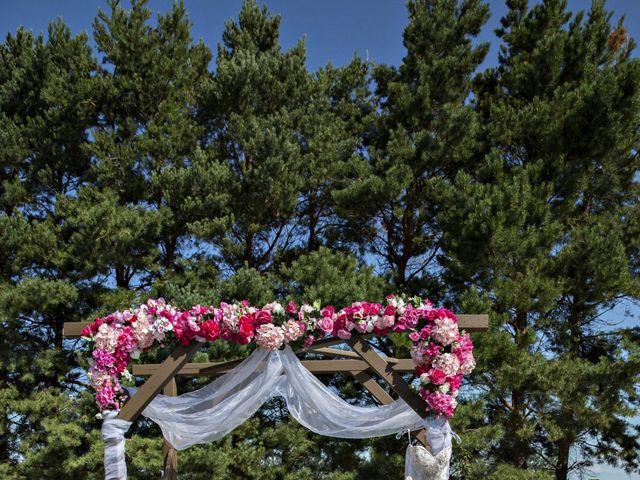 Devin and KristJana's wedding in Benito, Manitoba 3