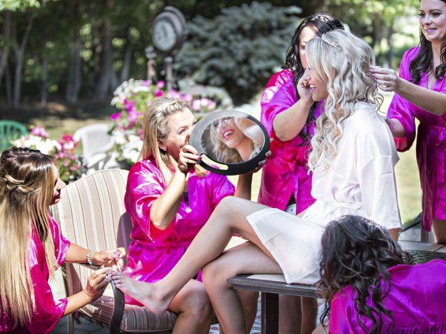 Devin and KristJana's wedding in Benito, Manitoba 1