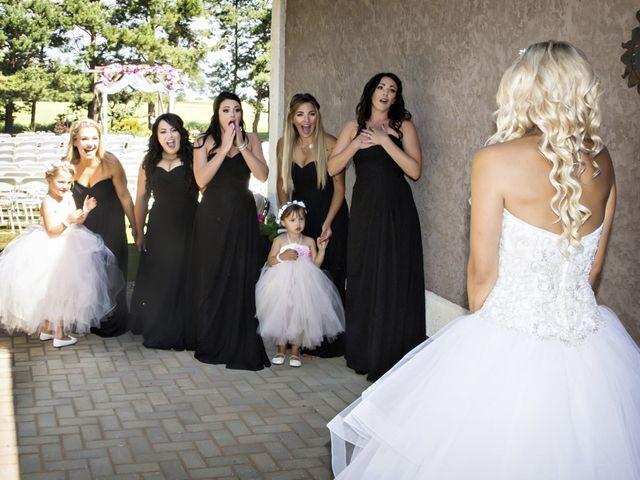 Devin and KristJana's wedding in Benito, Manitoba 8