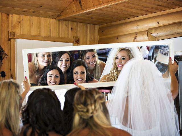 Devin and KristJana's wedding in Benito, Manitoba 9