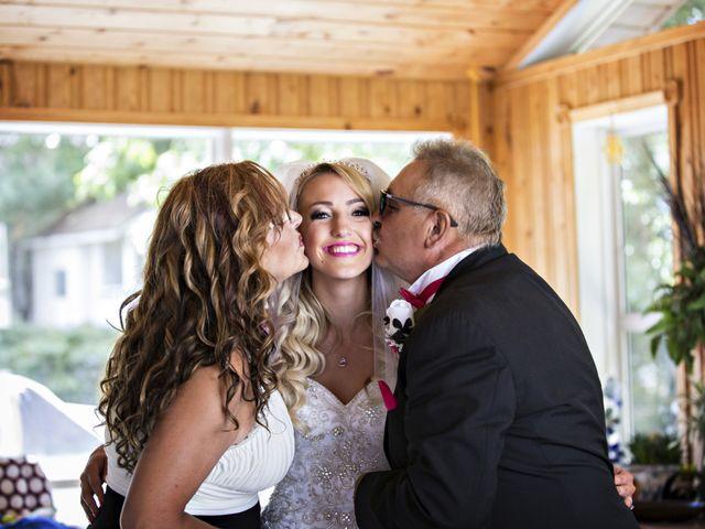 Devin and KristJana's wedding in Benito, Manitoba 10
