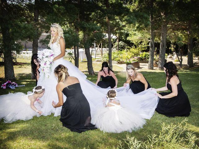 Devin and KristJana's wedding in Benito, Manitoba 11
