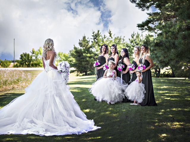 Devin and KristJana's wedding in Benito, Manitoba 13