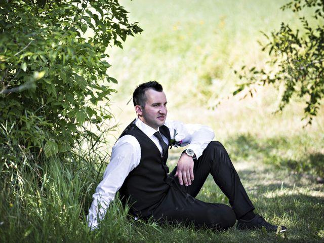 Devin and KristJana's wedding in Benito, Manitoba 14