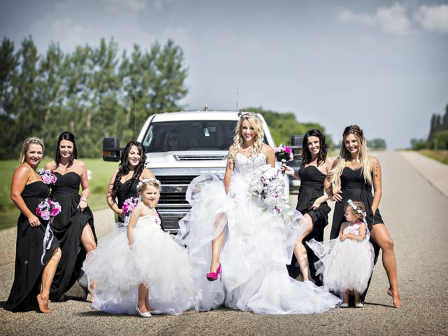 Devin and KristJana's wedding in Benito, Manitoba 18