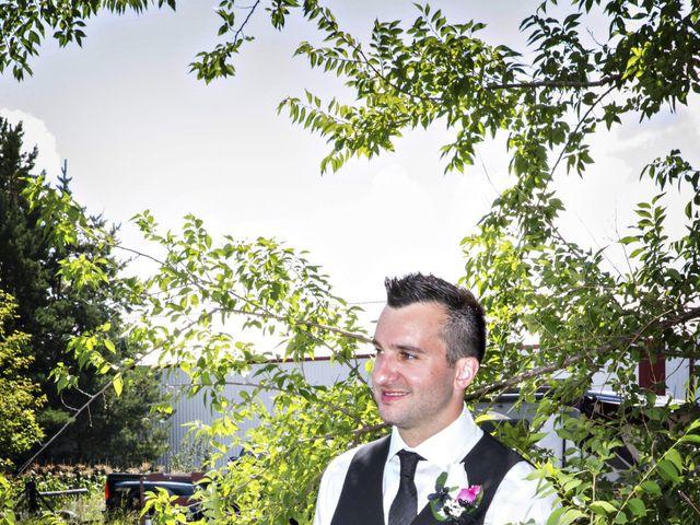 Devin and KristJana's wedding in Benito, Manitoba 22