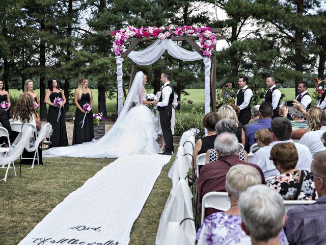 Devin and KristJana's wedding in Benito, Manitoba 27