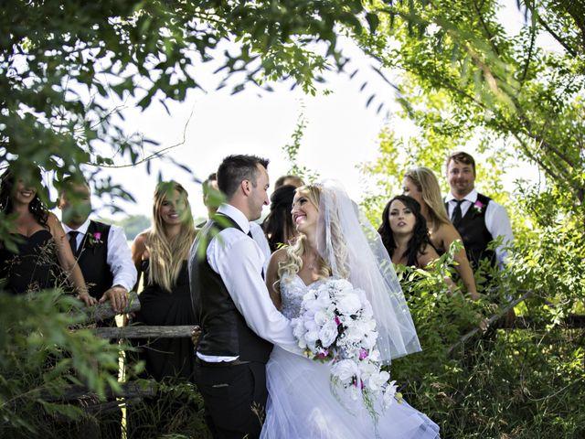 Devin and KristJana's wedding in Benito, Manitoba 30