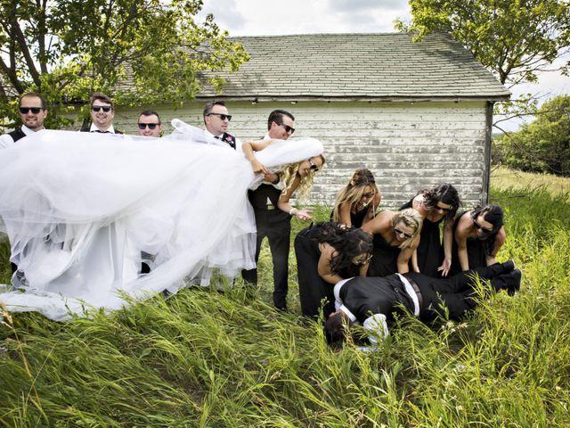Devin and KristJana's wedding in Benito, Manitoba 36