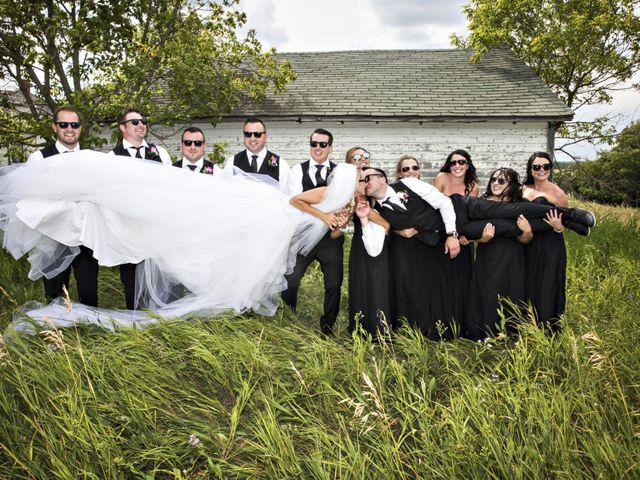Devin and KristJana's wedding in Benito, Manitoba 37