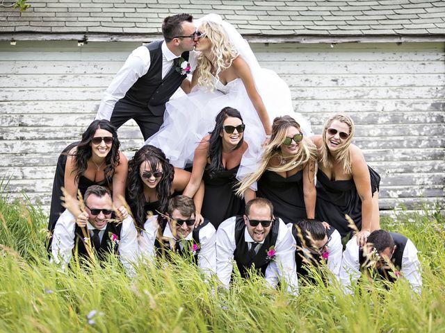 Devin and KristJana's wedding in Benito, Manitoba 38