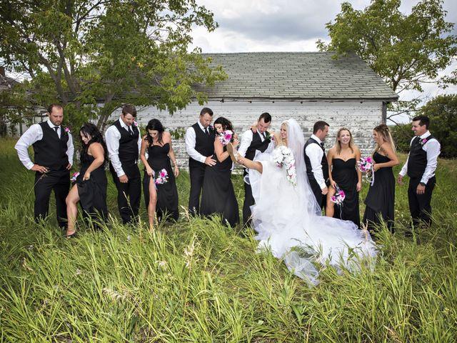 Devin and KristJana's wedding in Benito, Manitoba 39