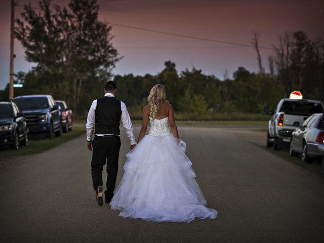 Devin and KristJana's wedding in Benito, Manitoba 56