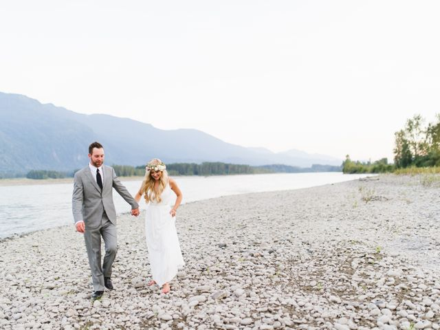 Kevin and Leah's wedding in Agassiz, British Columbia 2