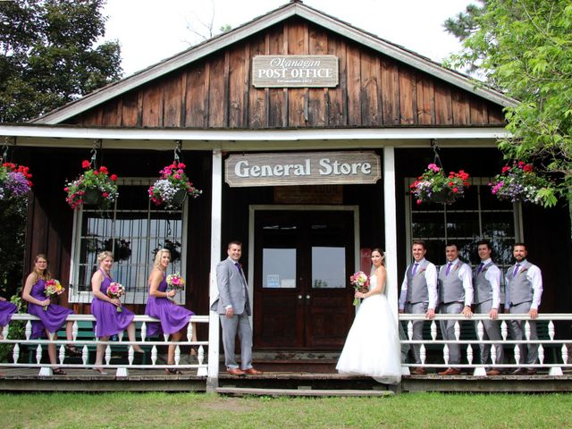 Cody and Kelsey's wedding in Vernon, British Columbia 1