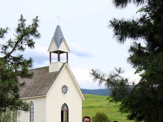 Cody and Kelsey's wedding in Vernon, British Columbia 3