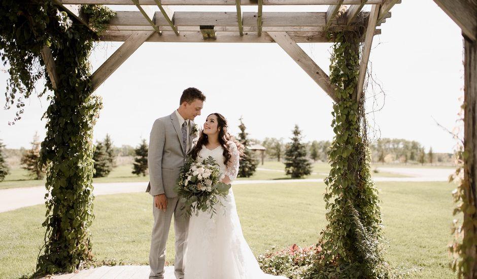 Jaydan and Sonja's wedding in La Broquerie, Manitoba