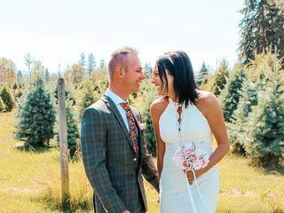 The wedding of Nicole and Caleb