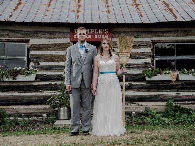 The wedding of Sarah and Sebastian