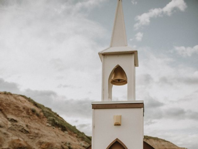 Mike and Levi's wedding in Drumheller, Alberta 5