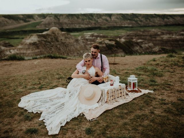 Mike and Levi's wedding in Drumheller, Alberta 7