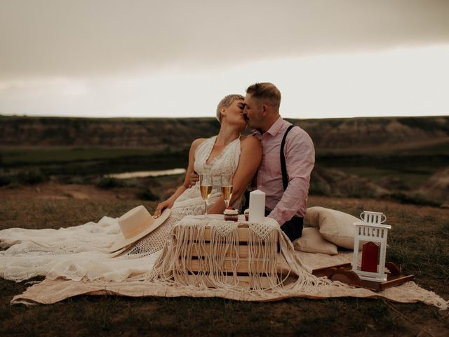 Mike and Levi's wedding in Drumheller, Alberta 10