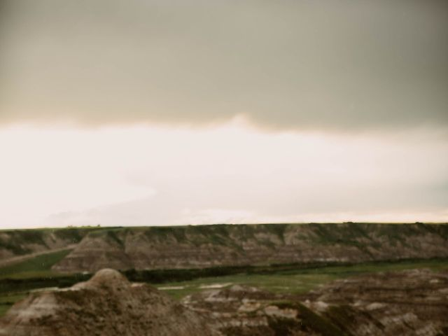 Mike and Levi's wedding in Drumheller, Alberta 11