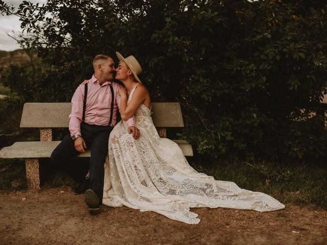 Mike and Levi's wedding in Drumheller, Alberta 12