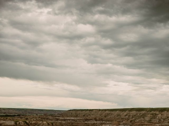 Mike and Levi's wedding in Drumheller, Alberta 13