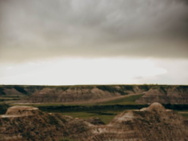 Mike and Levi's wedding in Drumheller, Alberta 17