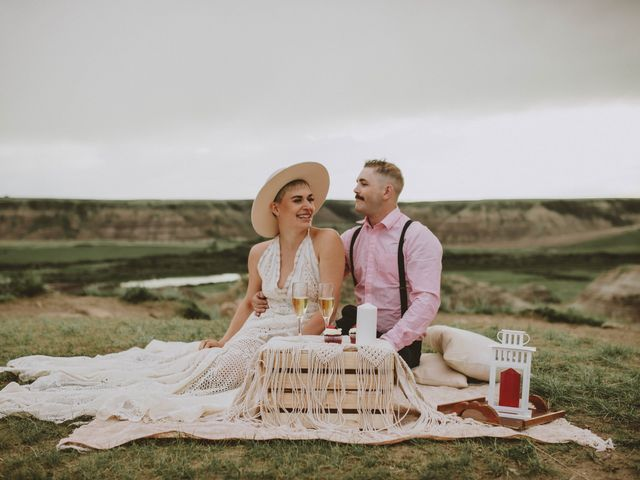 Mike and Levi's wedding in Drumheller, Alberta 18