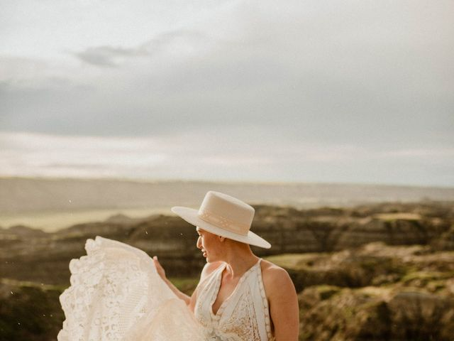 Mike and Levi's wedding in Drumheller, Alberta 19
