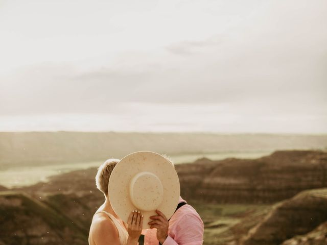Mike and Levi's wedding in Drumheller, Alberta 21