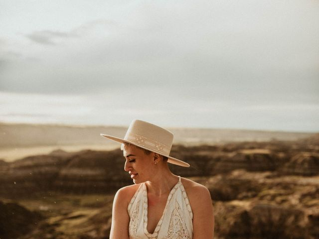 Mike and Levi's wedding in Drumheller, Alberta 24