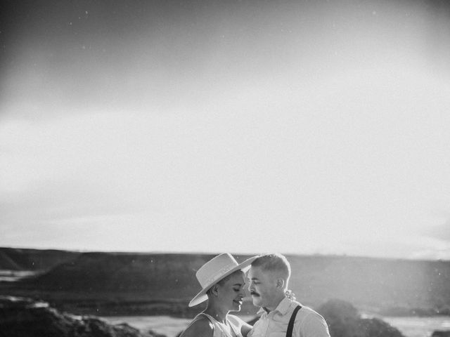 Mike and Levi's wedding in Drumheller, Alberta 26