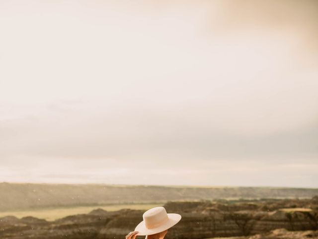 Mike and Levi's wedding in Drumheller, Alberta 30