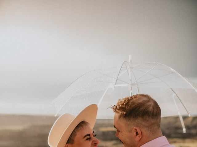 Mike and Levi's wedding in Drumheller, Alberta 33