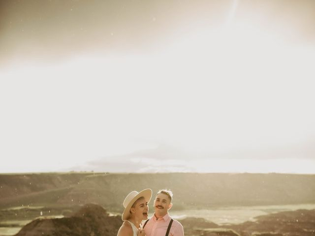 Mike and Levi's wedding in Drumheller, Alberta 34