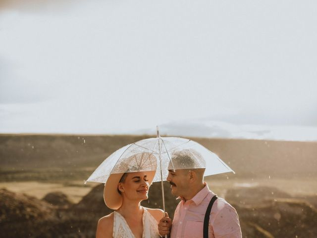 Mike and Levi's wedding in Drumheller, Alberta 35