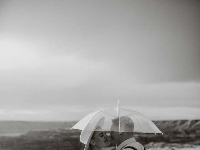 Mike and Levi's wedding in Drumheller, Alberta 36