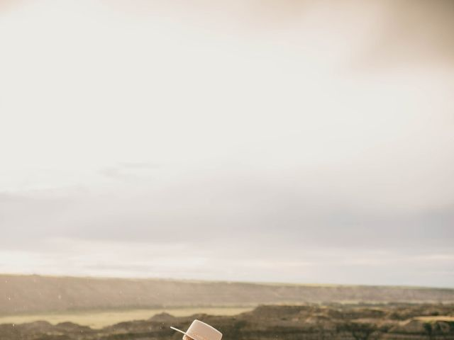 Mike and Levi's wedding in Drumheller, Alberta 39