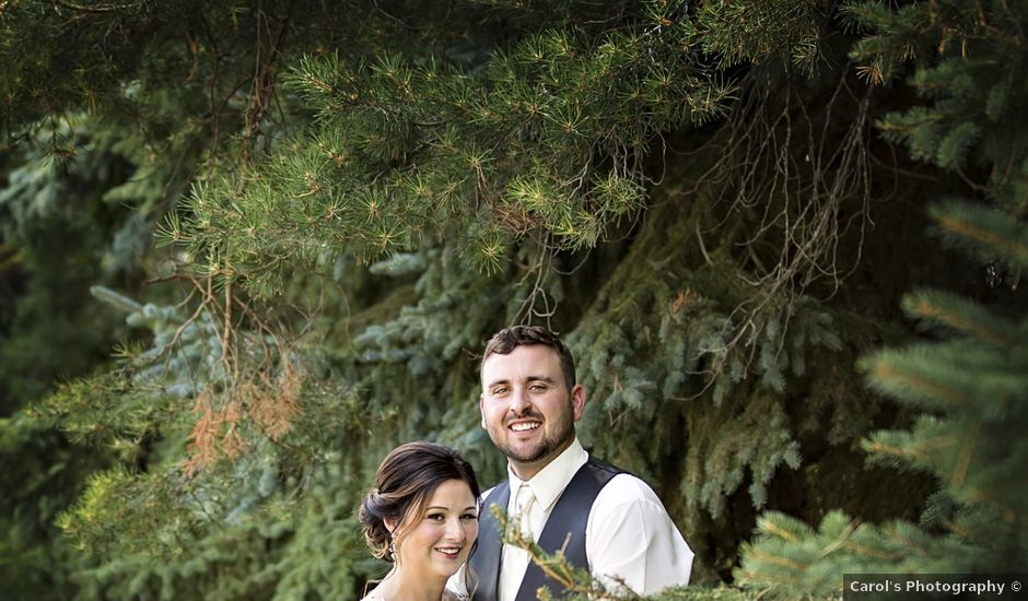Ryan and Teagan's wedding in Canora, Saskatchewan