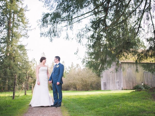 Ken and Kyli's wedding in Langley, British Columbia 1