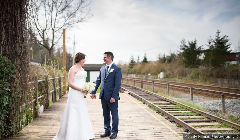 Ken and Kyli's wedding in Langley, British Columbia