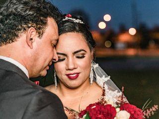 The wedding of Roberta and Junior