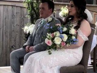 The wedding of Jasmynn and Connor