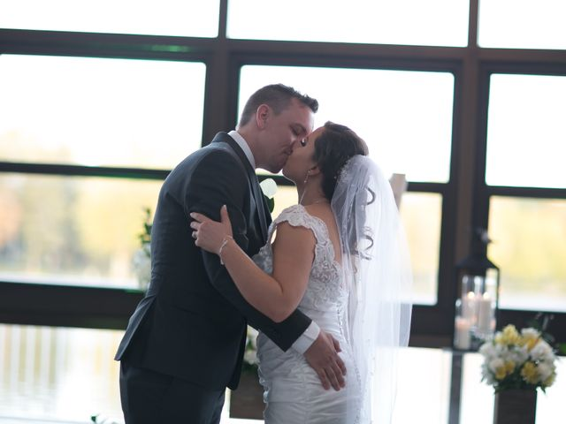 The wedding of Erin and Eric