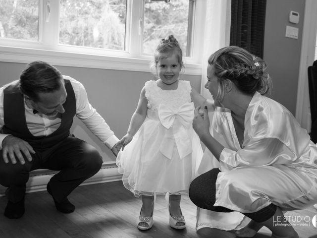 Antoine and Annie's wedding in Nicolet, Quebec 1