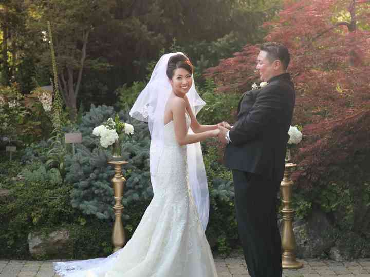 The wedding of Mao and Ken