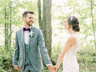 The wedding of Rachel and Ryan 1